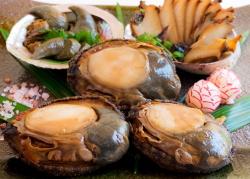 あわびの煮貝と煮わたのセット