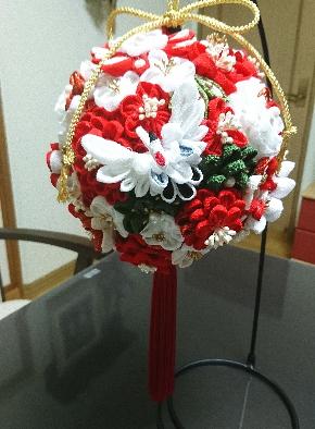 婚礼用ボールブーケ