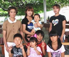 専果園、園主と家族