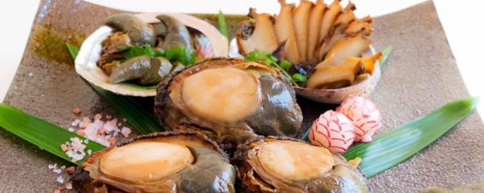 あわびの煮貝の画像